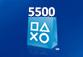 PlayStation.Store 5500 руб. - пополнение бумажника