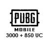 PUBG Mobile 3000 + 850 UC