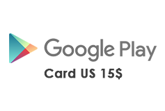 Google Play Gift Card US 15$