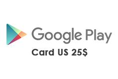 Google Play Gift Card US 25$