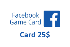 Facebook Game Card 25$