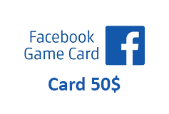 Facebook Game Card 50$