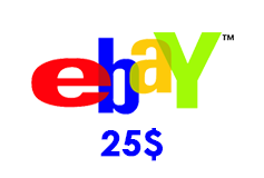 eBay Gift Card (US) 25$