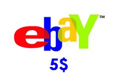 eBay Gift Card (US) 5$