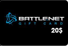 Battle.net Balance Card (US) 20$